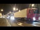 На Крымском мосту открыто движение для грузового автотранспорта