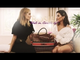 Camila Coelho shows her flight kit to Rosie Huntington-Whiteley (RUS SUB)