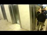 Вандализм в лифте 11 октября 2018 года
