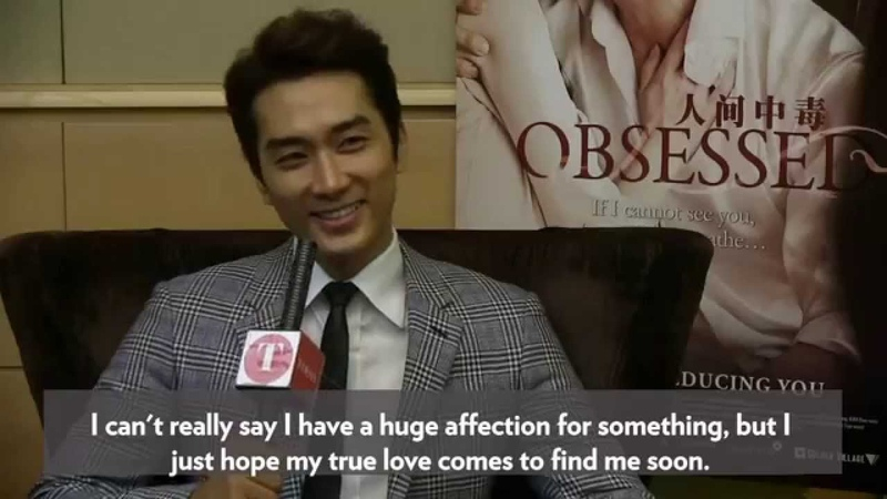 Song Seung-Heon looking forward to meeting his true love