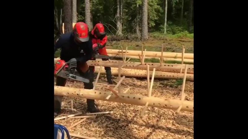 Соревнования ручников Elmia wood 2017