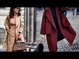 Модные пальто осень 2018 - весна 2019 самые оригинальные образы с подиума и уличная мода,