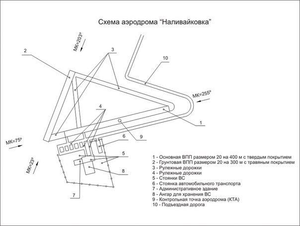 Схема обновленново аэропорта