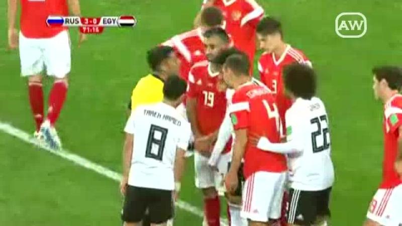 Rusia 3 1 Egipto Grupo A Fecha 2 Mundial Rusia 2018