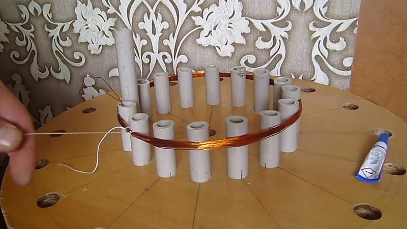 Намотка катушки для металоискателя ПИРАТ
