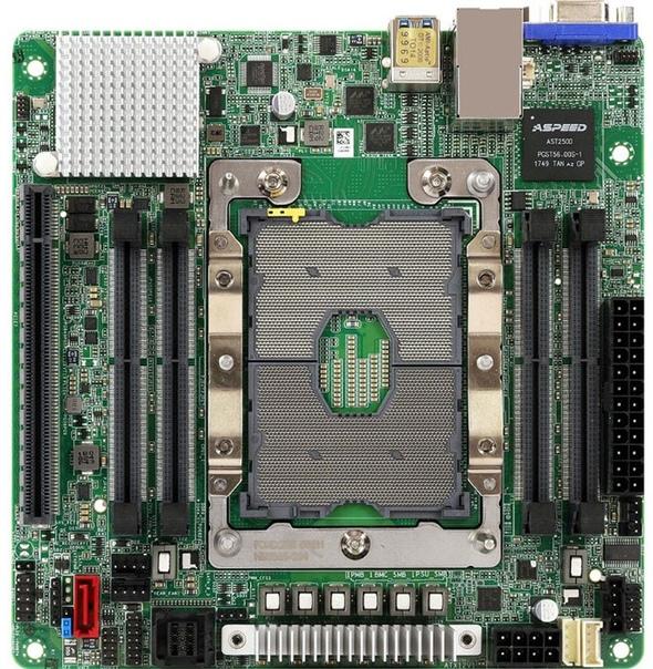 ASRock анонсировала новую ревизию Mini-ITX платы EPC621D6I