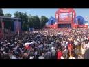 Фестиваль болельщиков в Нижнем полон народа - Типичный Нижний Новгород