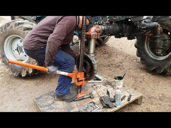Belarus MTZ-82 restoration project. Part 22 | Front Axle Repair