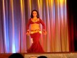 ANNA BORISOVA - Russian Belly Dancer Solo Tabla