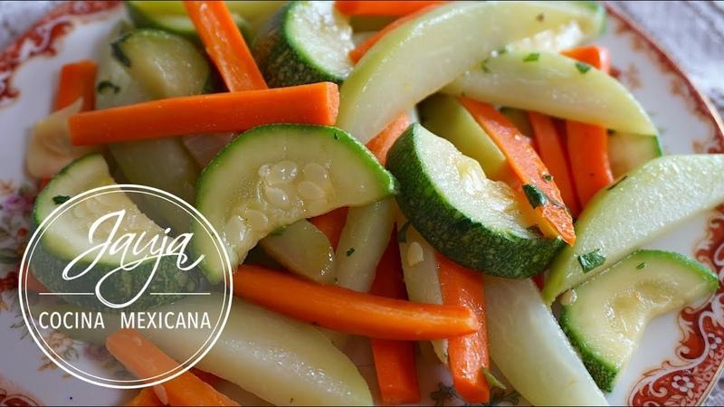 Verduras al Vapor Sin Vaporera ¡Facilísimo!