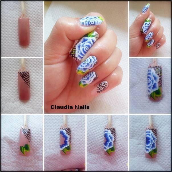 Красивый дизайн ногтей уроки