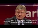 AfD - Jörg Meuthen in Hochform bei hart aber fair! .