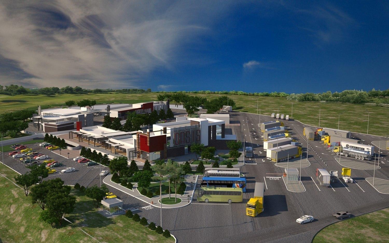 В Красносулинском районе на федеральной трассе «Дон» строится две многофункциональные зоны отдыха, аналогов которых на нашей территории нет.