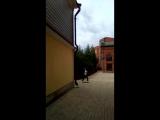 завершение съёмок. Вишневый сад. москва