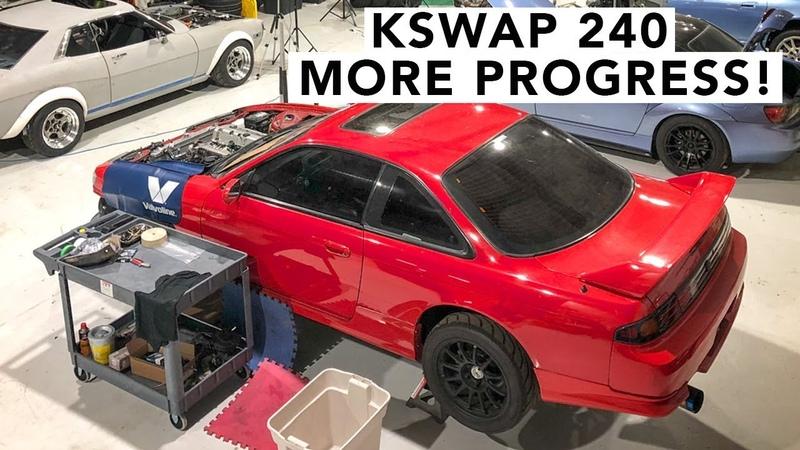 Unfinished Business - Honda K-Swap 240SX
