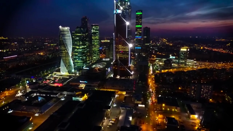 Облёт вокруг Москва-Сити