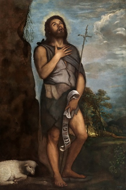 История одного шедевра. «Иоанн Креститель», Тициан Вечеллио