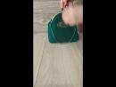 Сумочка на фермуаре бантики