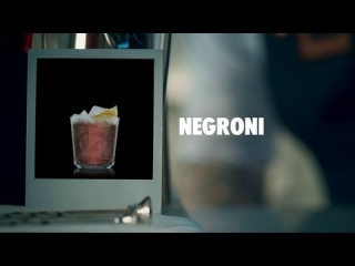 NEGRONI DRINK RECIPE - HOW TO MIX