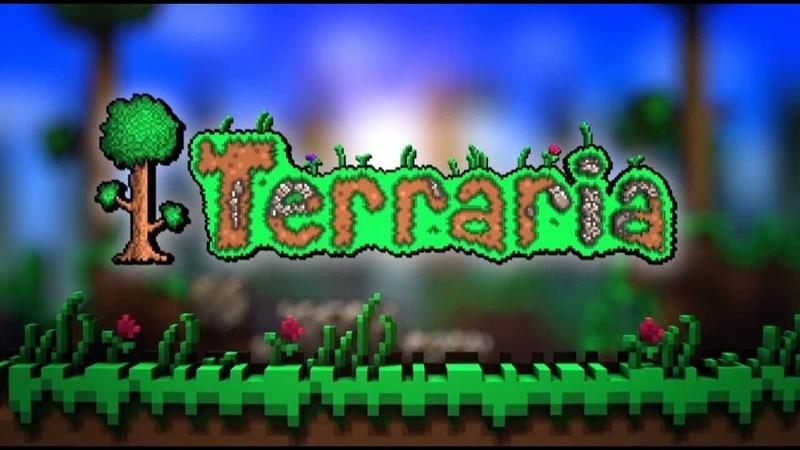 возвращаюсь! прохождение Terraria за призывателя часть 1.
