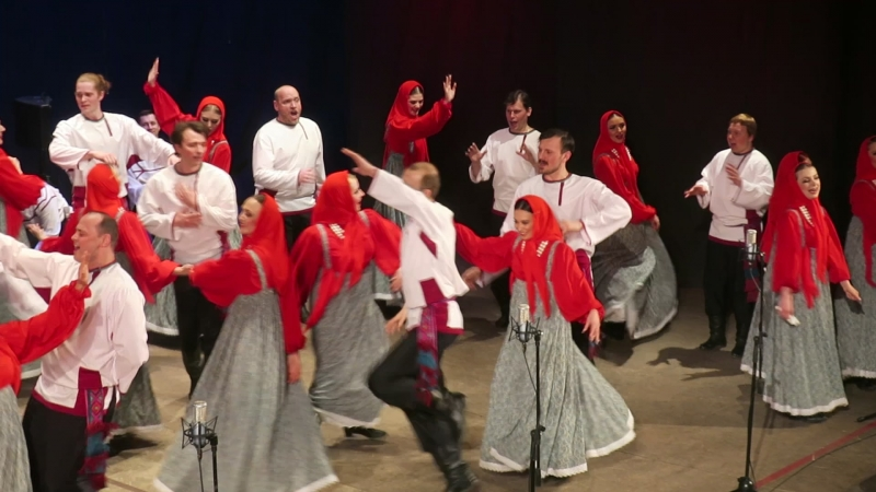 Забытые русские песни и танцы подарил ореховозуевцам хор Пятницкого 25 марта