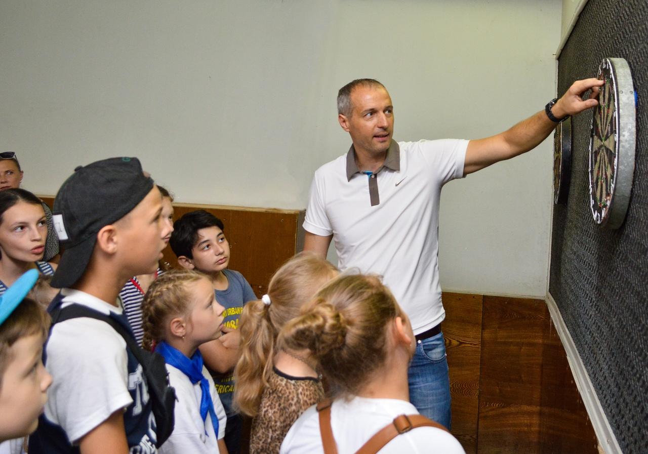 В Донецке продолжается спартакиада среди пришкольных лагерей