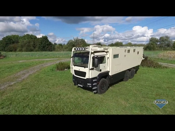 UNICAT Expedition Vehicles - Part 3 MD77H MAN TGS 33.540 - 6X6 Drive Cab