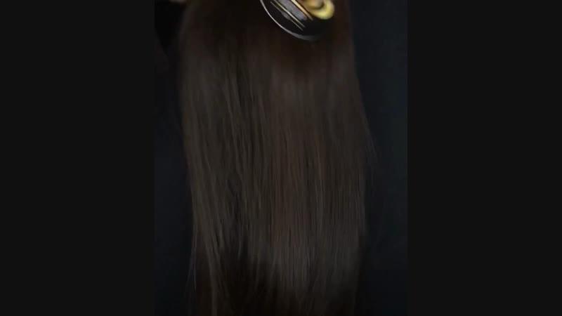 Длинноволосый шоколадный красавчик - 80 см