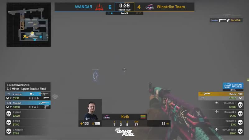 @avgbuster pulls an ace out of nowhere to secure a 7th round! IEM - -