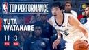 Yuta Watanabe has a Strong Performance for Memphis in Overtime Thriller!   2018 NBA Preseason