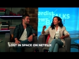 Netflixs Lost in Space Stars Taylor Russell Ignacio Serricchio Live! (Nerdist News Talks Back)