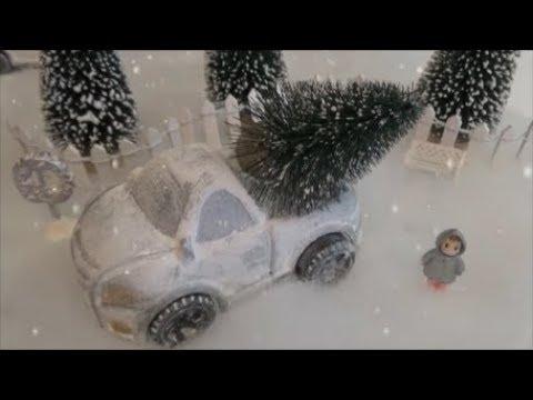 Fix Price в перекраску в переделку.Новогодние авто.Миниатюрная зимняя сказка.