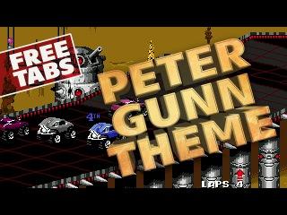 Henry Mancini – Peter Gunn Theme (fingerstyle guitar, FREE tabs)