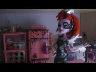 Мультик про кукол Монстр хай-Новый год- ЭТО ВИДЕО НЕ МОЁ!!!!!!!!!!!!!