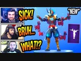 [Fortnite Funny] STREAMERS REACT TO *NEW*