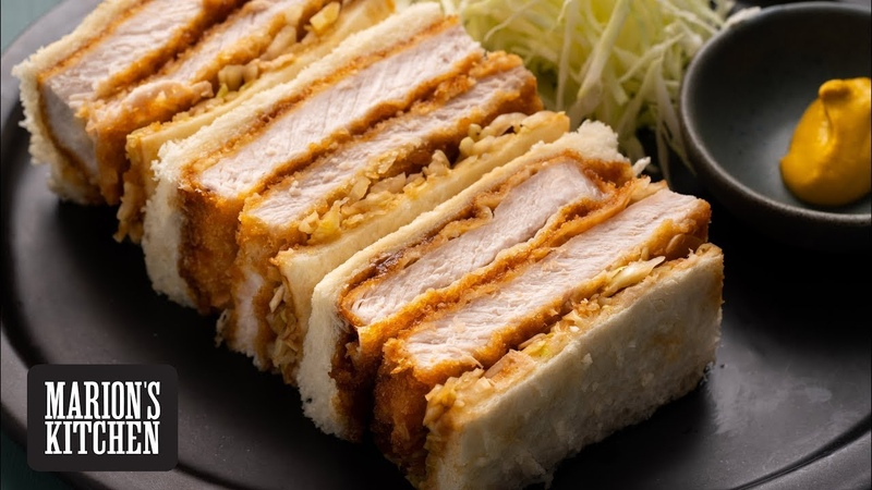Japanese Pork Katsu Sando - Marions Kitchen