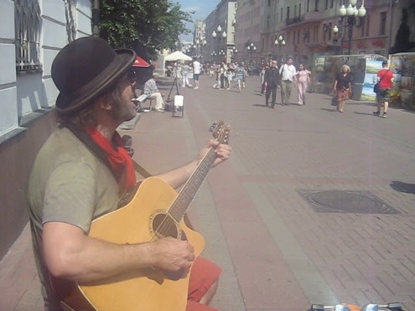 29 06 2018 old arbat street солнечный кот sunny cat
