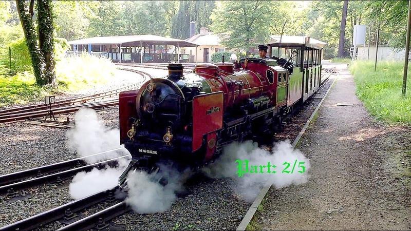 Dresden Park Railway. Part: 2/5