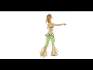 White Room Session -- Avery Lamar -- Belly Dancer 4351
