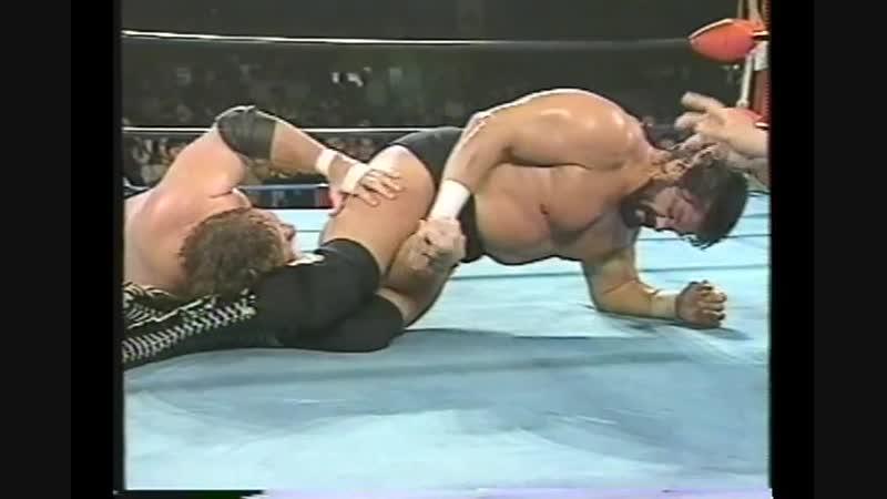 1992.04.14 - Stan Hansen vs. Steve Williams