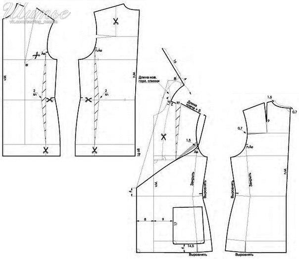 Salida De Baño Ninos Moldes: para el hogar: Patrón para realizar chaqueta de paño con moldes