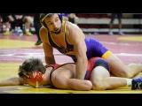 Bryce Sheffer (SIUE-unat) vs Jake Hodges (UNI) - 141lbs