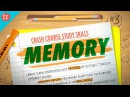 Memory Crash Course Study Skills 3