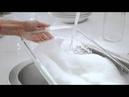 (2016) AOS (средство для мытья посуды) полностью смывается водой