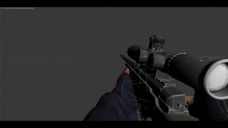 L96A1 (Reload Empty Action) - Demo
