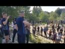Киев 10 мая 2018 Как Нацкорпус ездил к Левочкину Шарий