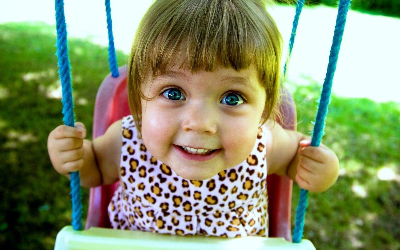 Блакитноока дитина