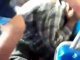 Эпический Бородач, или AC TRANSIT BUS FIGHT Вызывайте НАНОЛОЖКУ