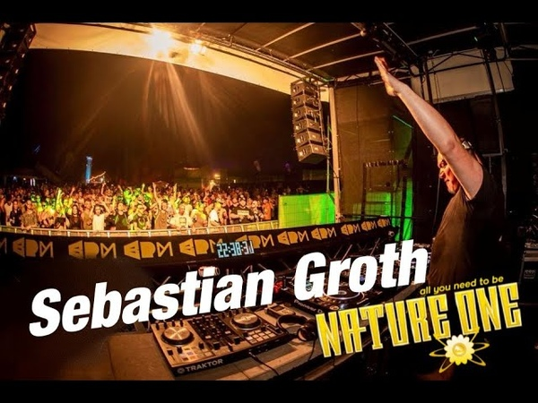 Sebastian Groth at Nature One 2018 - BPM Stage