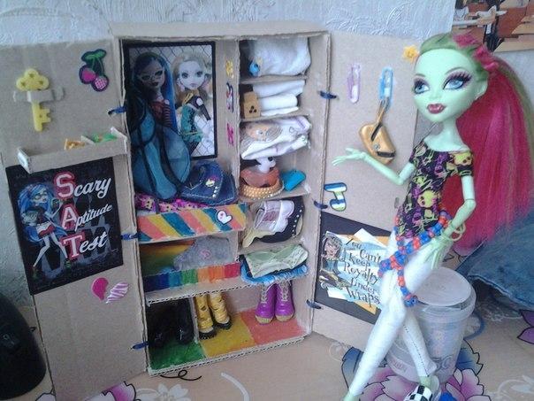 Как сделать для кукол монстер хай своими руками фото